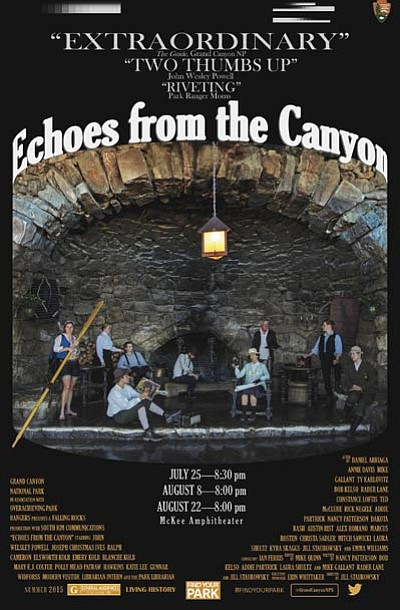 Echoes from the Canyon will premiere July 25 at 8:30 p.m. Photo/GCNP