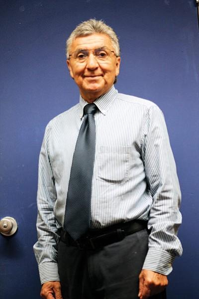 Grand Canyon School Principal Javier Abrego. Loretta Yerian/WGCN