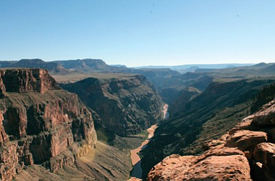 Tuweep is located on the northwestern rim of Grand Canyon National Park. Loretta Yerian/WGCN