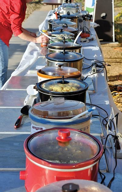 Prizes will be awarded to the chili cook-off champion. File photo