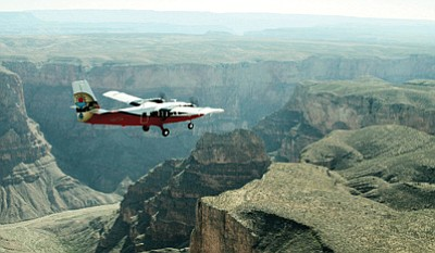 Papillon Group now offers a Native Explorer Tour departing from its Grand Canyon West air terminal. Photo/Papillon Group
