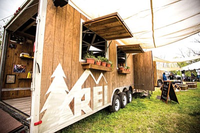 REI Village will set up for an event filled day Nov. 7. Photo/courtesy of REI