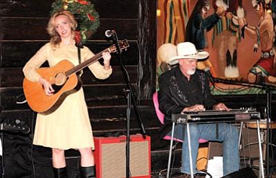 The John Rueter Band at the 2014 Rotary Dinner-Dance. Loretta Yerian/WGCN