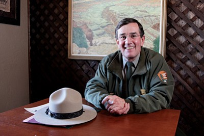 Grand Canyon National Park Superintendent Dave Uberuaga will ride in the 127 Rose Parade in Pasadena, California. WGCN file photo