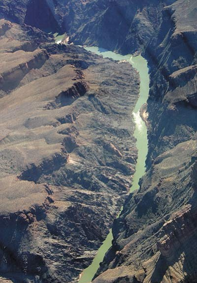A portion of the Colorado River flowing through the Grand Canyon. File photo