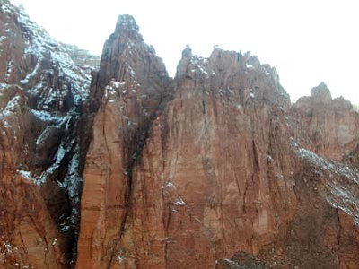 Paria Canyon where Matthew Kenney, 29, died while wingsuit jumping. Photo/courtesy of Coconino County Sheriff's Office