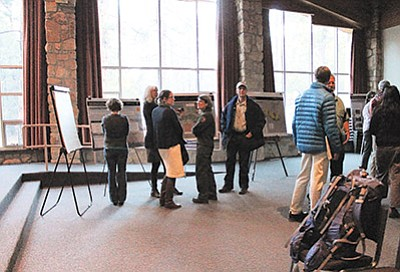The park held a public scoping meeting Dec. 2 at Shrine of the Ages on the South Rim. Loretta Yerian/WGCN