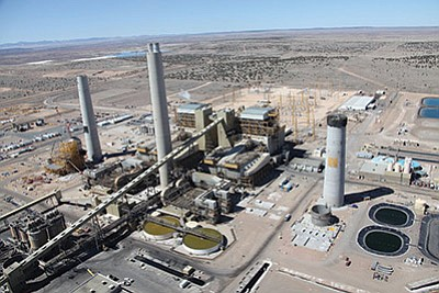 The Coronado Generating Station was one of three coal-fired power plants in eastern Arizona that had emissions restrictions imposed by the EPA. A federal court upheld the EPA action. Photo/James R. Eastwood/SRP