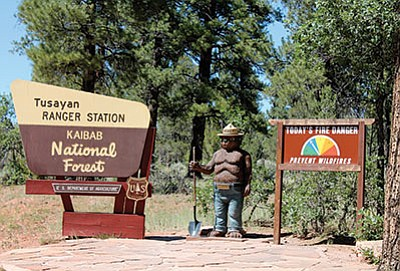 Kaibab National Forest denied the town of Tusayan's road easement application to the Ten X and Kotzin Ranch properties. Approval of the easements had the potential to allow road access to a future development by Stilo Development U.S.A. Loretta Yerian/WGCN