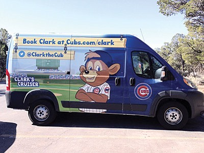 Clark the Cub's tour bus on its way to the South Rim. Submitted photo