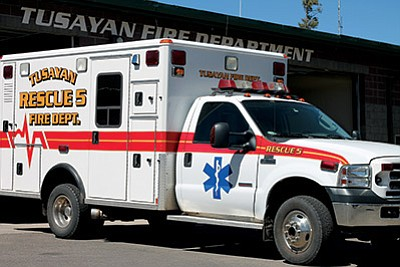 Assistant Fire Chief Lora Pitsinger is seeking housing at the U.S. Forest Service housing units. Loretta Yerian/WGCN