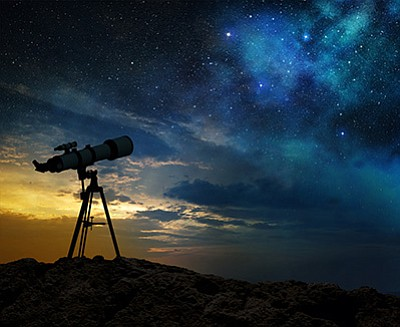 The North and South Rims of Grand Canyon will host annual star parties June 4 - 11. Stock photo