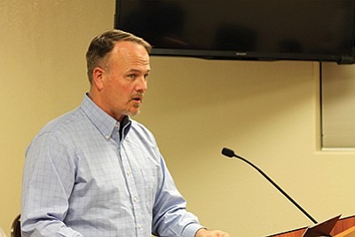 Lieutenant Brian Tozer with Coconino County Sheriff's Department said the department is hoping to have a full-time officer living in Tusayan within the next four to six months. Loretta Yerian/WGCN