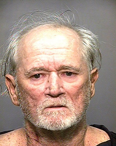 Larry McGowan, previously from Louisiana, was booked on two counts of attempted homicide May 31. Photo/courtesy of Coconino County Sheriff's Office