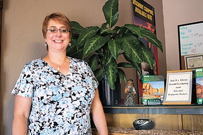 In June Grand Canyon Chamber and Visitors Bureau hired Laura Chastain as its full time general manager. Loretta Yerian/WGCN