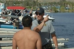 On Aug 13 an OUI checkpoint will check boaters on Lake Powell. Photo/AZGFD