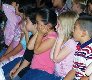 Not everyone appreciated the volume at last Thursday's School of Rock performance.