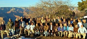 Photo courtesy of NPS Attendees from the United States-Mexico Sister Parks conference gather for a photo.