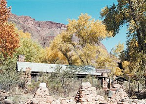Phantom Ranch is a welcome sight to hikers arriving at the bottom of the Grand Canyon.