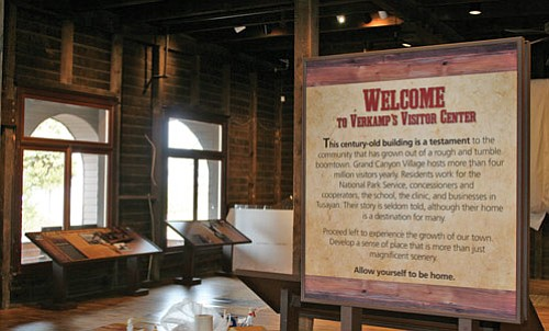 Verkamp's Curios reopened in November as a visitor center and exhibit that interprets the Grand Canyon Community.