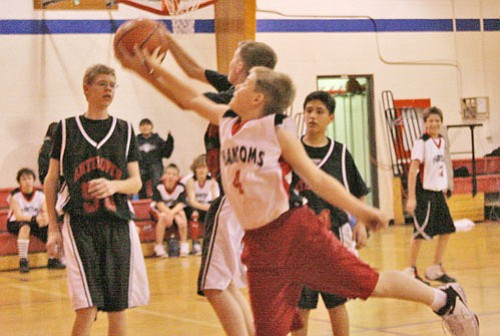 Phantom Alex Thompson in last week's middle school games.