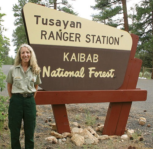 <br>Patrick Whitehurst/WGCN<br> District Ranger Angela Parker said she is looking forward to working in the Tusayan Ranger District on the border of the Grand Canyon National Park.