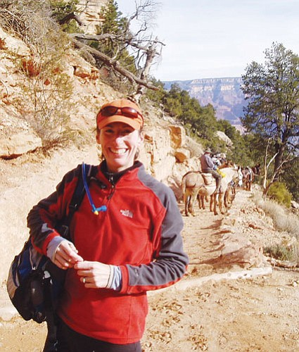 <br>Submitted photo<br> Bonnie O'Donnell is the Grand Canyon Association's new development director.