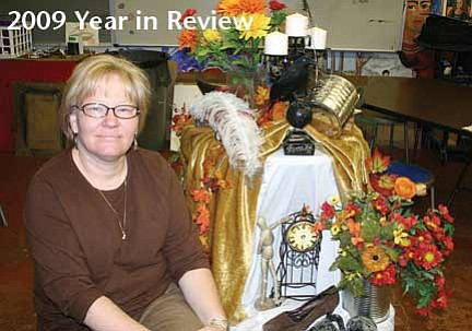 <br>Patrick Whitehurst/WGCN<br> Amy McBroom was chosen as the National Rural Teacher of the Year in 2009