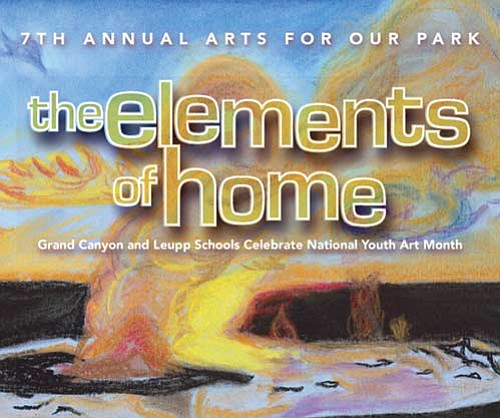 <b>Courtesy Grand Canyon Association</b> Pictured above is an image from the seventh annual Art for Our Park program, featuring artwork entitled 'Fire on the Lake.'