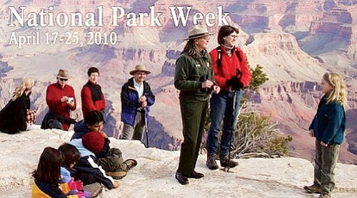 <br>Courtesy photo<br> Besides free entry to the national park April 17-25, a celebration for Earth Day will also be held on April 22.