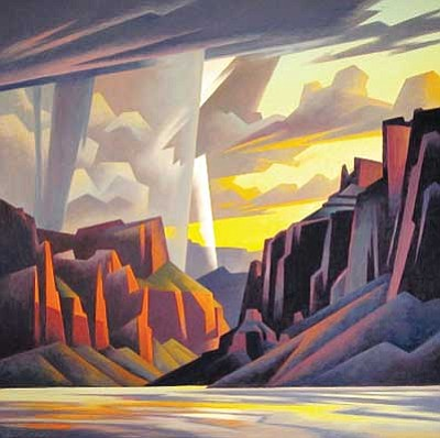 Images courtesy Grand Canyon Music Festival<br> Pictured is Ed Mell's 2010 Grand Canyon Music Fesitval image 'Canyon Strike.'