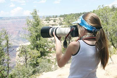 <br>Photo/ Erika Skogg/American Park Network<br> Participants in the free Canon Photography in the Parks workshop can learn from the pros while using free, top-of-the-line Canon cameras and lenses.