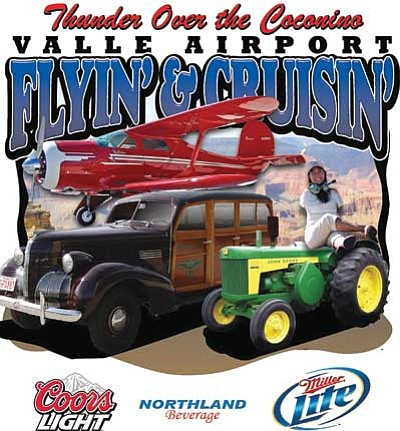 <br>Courtesy Valle Airport<br> Featured speaker Jessica Cox is highlighted on promotional material for the 2010 Thunder Over the Coconino event.