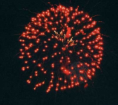 <br>Patrick Whitehurst/WGCN<br> This year's fireworks display is slated to begin Saturday night at 7 p.m.