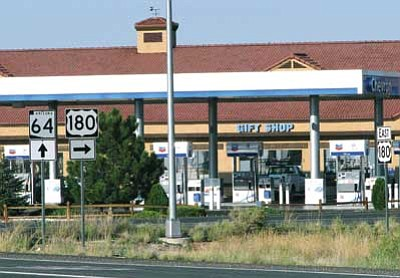 Brandon Garibay/WGCN<br /><br /><!-- 1upcrlf2 -->Authorities are currently seeking information regarding an armed robbery at the Valle Travel Stop at the junction of Highway 180 and State Route 64.