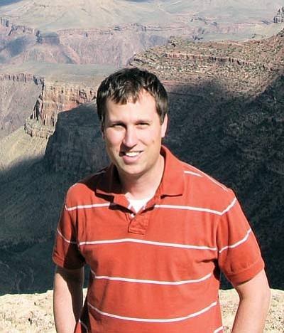 <br>Submitted photo<br> Resident Minister Patrick Dotson at the South Rim.