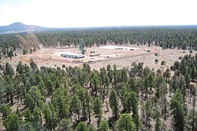 Photo/ADEQ<br> Denison Mines hopes to begin Uranium mining at the Canyon Mine located approximately 6 miles southeast of Tusyan.