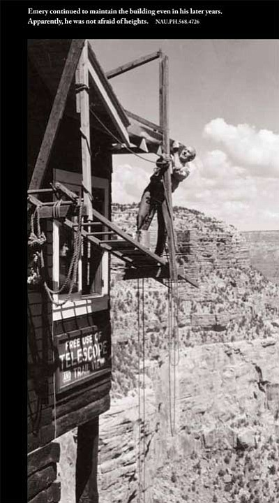 Photo courtesy Grand Canyon Association<br> A portion of one of the panels on display through Sept. 4 at Kolb Studio focusing on the Kolb Brothers' life at the Canyon.