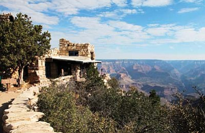 Ryan Williams/WGCN<br> Lookout Tower is just one of the many points of interest at Grand Canyon National Park.