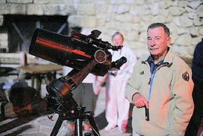 Photo/Nancy Varga<br> On the South Rim Sunday, rangers, amateur astronomers and NASA scientists will assist visitors with viewing of the annular eclipse and the night sky afterward.