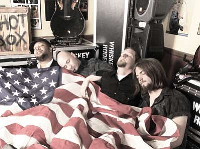 Whiskey Rodeo will play a mix of originals and covers during their five-hour engagement at the Tusayan Fourth of July celebration. Submitted photo