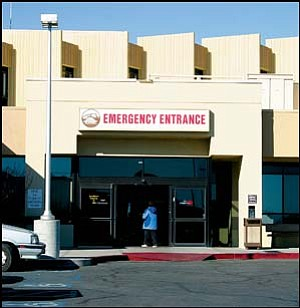Members of the medical community say more emergency or urgent-care facilities will be needed in Kingman within the next five years. KRMC's emergency room is one of the available options for urgent and emergency care in Kingman today. Photo: JC AMBERLYN/Miner