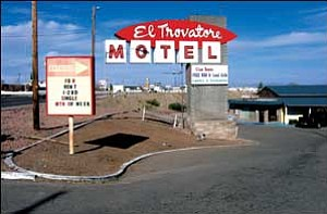 The El Trovatore Motel shown here Tuesday was partially closed on Monday following two tenants being hospitalized for carbon monoxide poisoning.  JC AMBERLYN/Miner