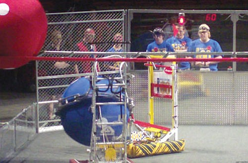 Courtesy<br><br> KHS Robotics team members are pictured at the first Robotics National Competition in Atlanta.