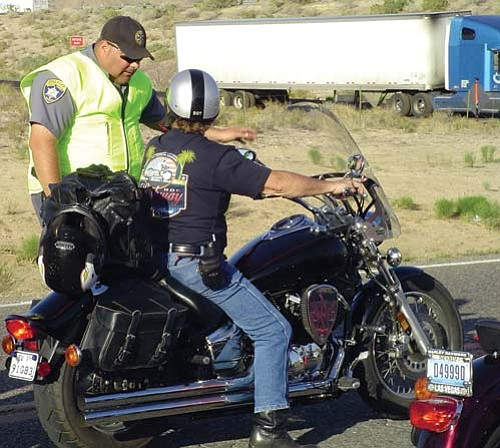 MCSO/Courtesy<br> Mohave County Sheriff's Department set up DUI checkpoints throughout the county during the River Run.