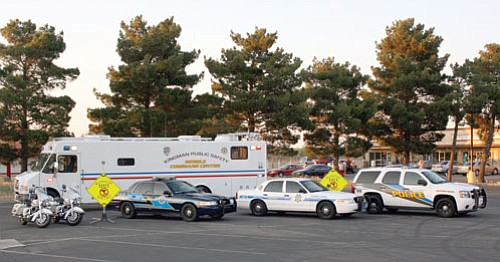 KPD/Courtesy<br> The Western Arizona DUI Task Force set up their mobile command post again this year for the Fourth of July weekend. Officers arrested 25 motorists on suspicion of DUI over the weekend.