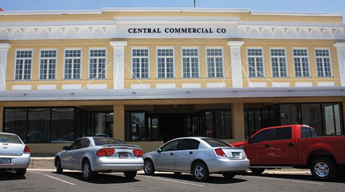 JC AMBERLYN/Miner<br><br> An outside view of the Central Commercial Company Building. The building was honored with the 2008 Governor�s Heritage Preservation Honor award.