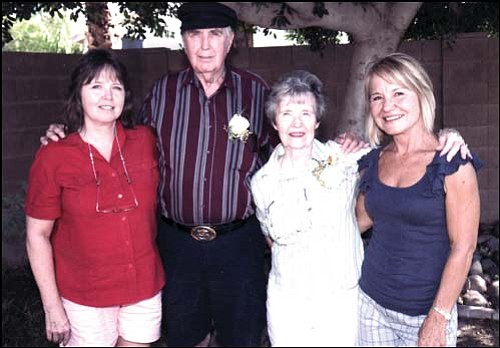 Shown from left to right are K. Julie Jacka, Tom Ennis, Katie Ennis and Melinda Bradley.