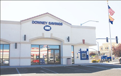 JC AMBERLYN/Miner<br><br> Downey Savings, a California-based saving and loan, has been hit hard by the recent economic downturn.