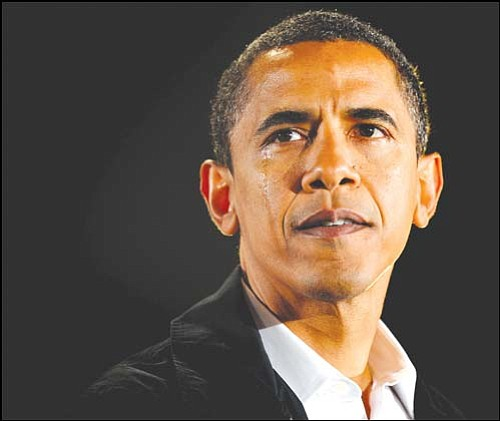 JEFF SINER/Charlotte Observer, MCT <br> Barack Obama will be the 44th U.S. president when he is sworn in Jan. 20, 2009.
